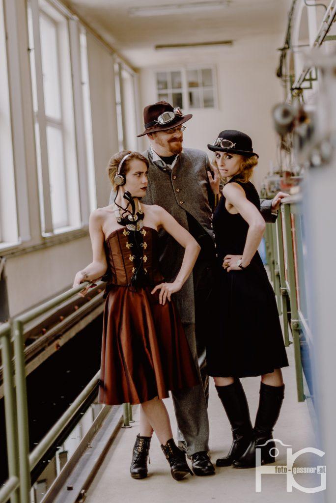Steampunk Haute Couture Kupferdach Production Wien
